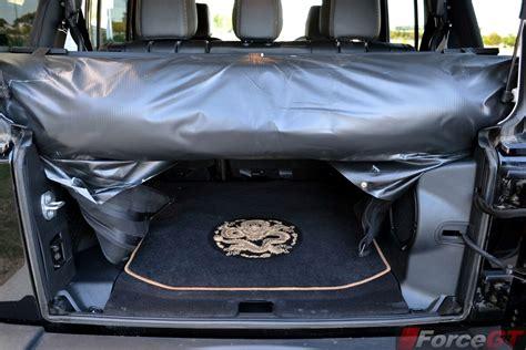 jeep wrangler cargo space jeep wrangler edition cargo space forcegt