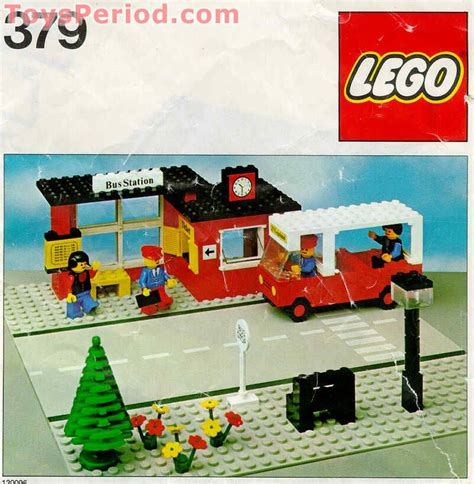 lego   bus station set parts inventory