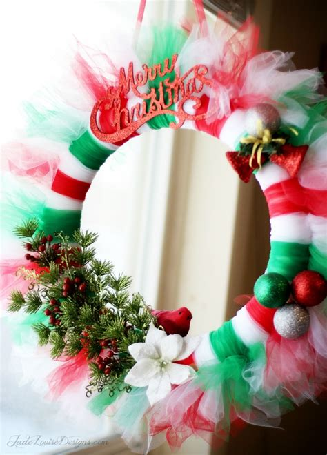 christmas items you tube wreaths wreath tutorial tutu wreath craft