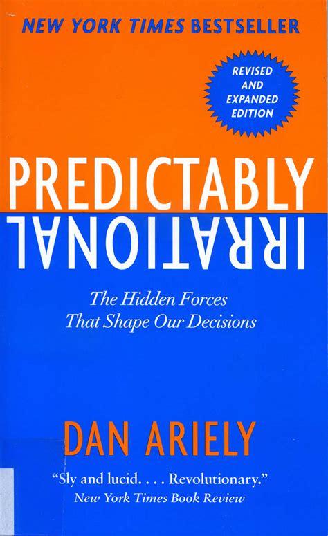 libro predictably irrational the hidden nuevos libros biblioteca ied madrid
