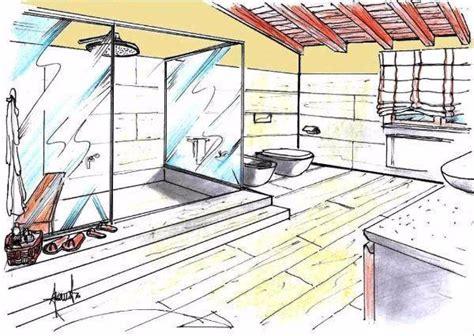 disegno di un bagno box doccia multifunzione