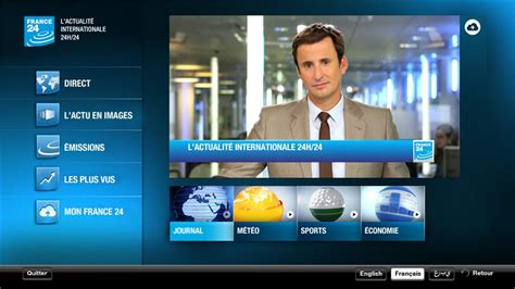 FRANCE 24 - Android TV - Android Apps on Google Play France News 24 Live