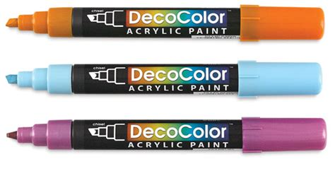 decocolor acrylic paint markers blick materials