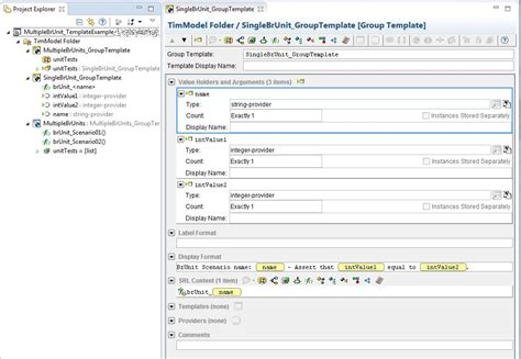 rma document template how create test template instance and execute from rma