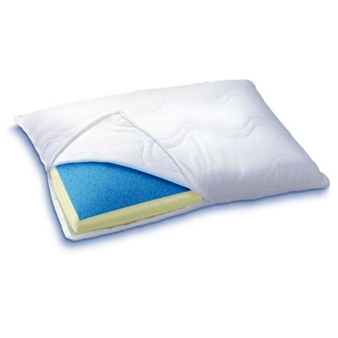 Reversible Memory Foam Pillow by Serta Reversible Gel Memory Foam Pillow