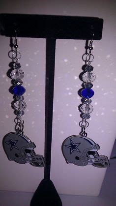 Handmade Jewelry Dallas - 1000 images about nfl earrings on nfl