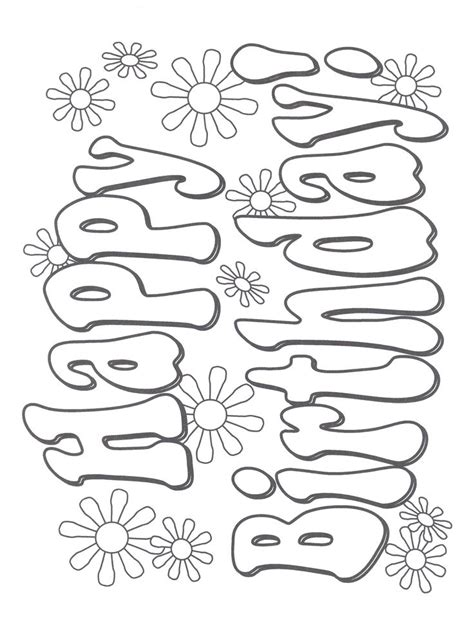 happy birthday tractor coloring pages 2024 best adult coloring pages images on pinterest