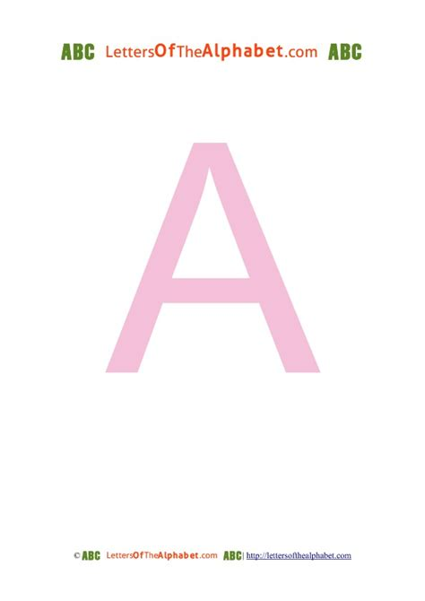 free printable letters in pink big printable letters of the alphabet in pink