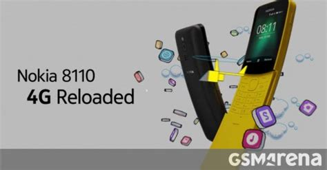 nokia 8110 4g availability expands, nokia 6.1 gets new