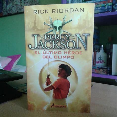el ultimo heroe del 0606376992 el rinc 243 n perdido rese 241 a libro percy jackson el 250 ltimo h 233 roe del olimpo