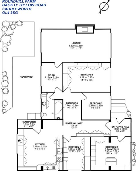 farm floor plans roundhill farm saddleworth equestrian property for sale