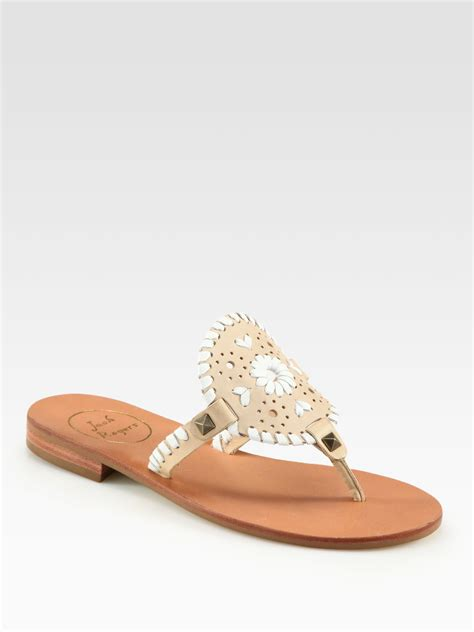 sand sandals rogers georgica leather sandals in brown sand