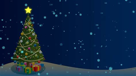 animated christmas trees with snow wallpapers tree background background with tree and snow looping