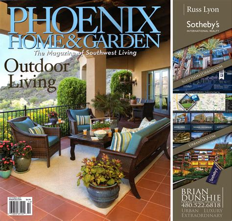 Backyard Living Magazine Website by Urbanphx Quot Home Garden Magazine Quot