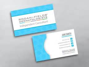 rodan and fields business card template rodan and fields business cards free shipping
