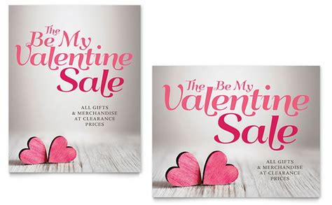 valentines day card template publisher sale poster template word publisher