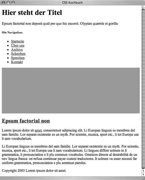 zweispaltiges layout css data2type gmbh css zweispaltiges layout mit fester breite