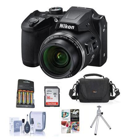 nikon coolpix b500 digital point & shoot camera with free
