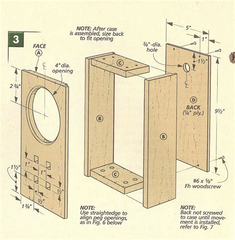 woodworking clock plans rojo kayo buy woodworking project sketchup