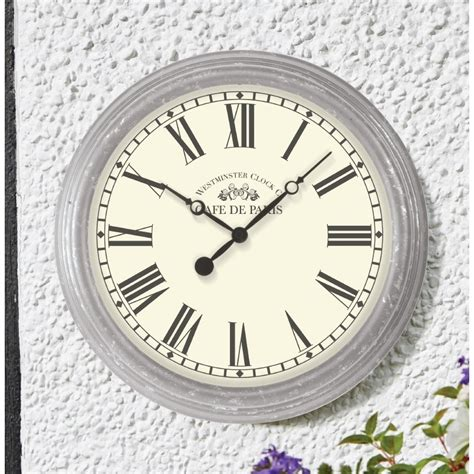 Garden Clock by Biarritz Garden Outside Wall Clock The Garden Factory