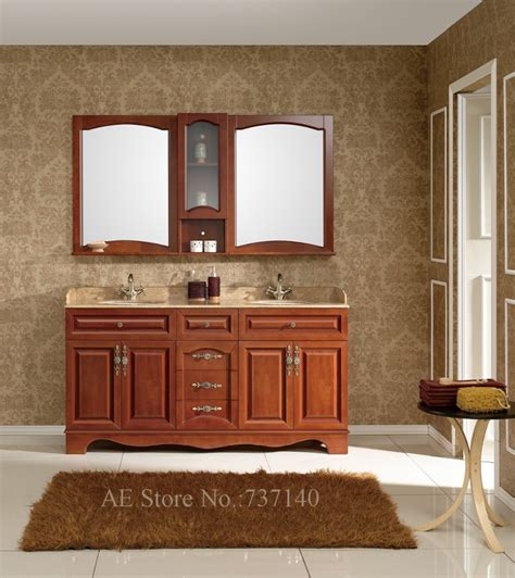 promotion wholesale live room chair high quality solid double basin bathroom cabinet high quality solid wood and
