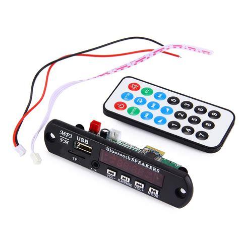 Remote Mp3 3 car bluetooth mp3 decoding board module fm radio usb tf aux remote for vehicle 12v