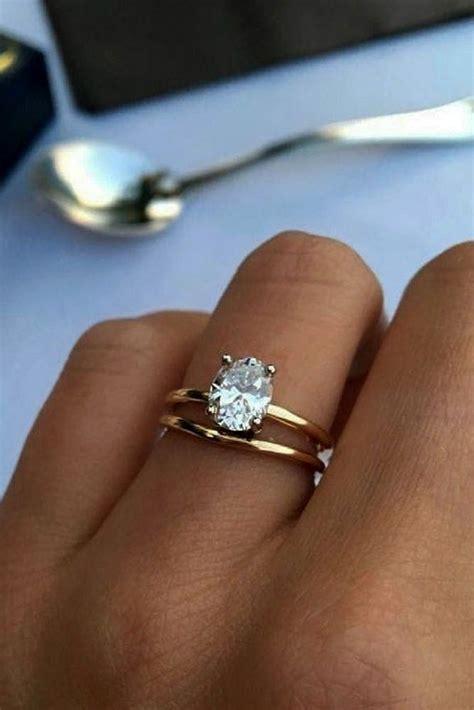 Simple Engagement Ring Cincin Tunangan 27 27 simple engagement rings for who classic simple engagement rings oval cut
