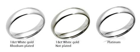 engagement rings 101 white gold vs platinum