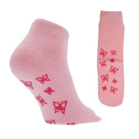 non skid slipper socks womens thermal non skid slipper socks with grip 1