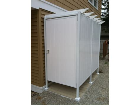 outdoor shower unit outdoor shower stalls pictures to pin on pinsdaddy