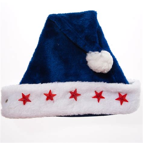 blue christmas hats christmas decore