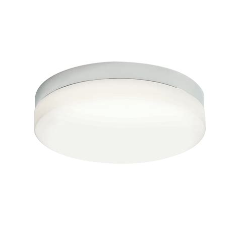 bathroom flush ceiling light endon opal duplex glass bathroom flush ceiling light