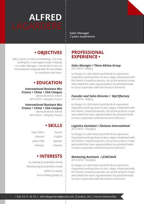 Smart Cv Format by Great Resume Smart Resume 183 Mycvfactory