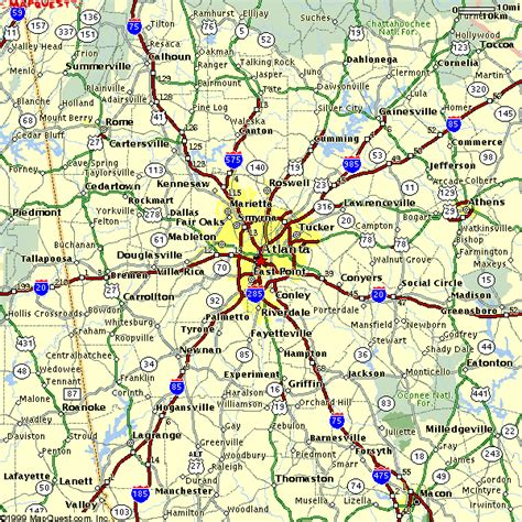 atl map map of atlanta atlanta maps mapsof net