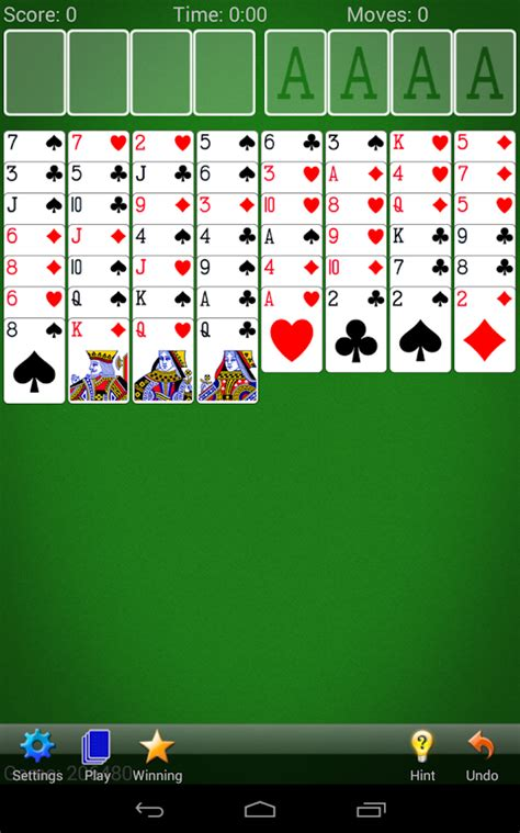 free solitaire app for android freecell solitaire android apps on play