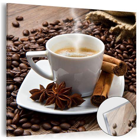 kaffee oder deko neu acrylglasbilder bild deko glas glasbild kaffee k 220 che