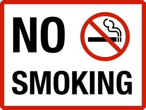 no smoking sign large clipart no smoking