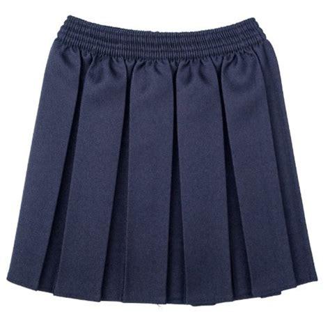 school box pleated elastic skirt summer