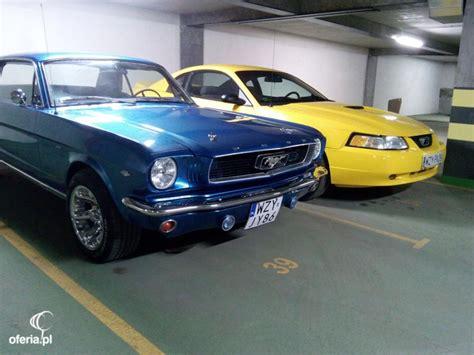 Auto X Mustang by Auto Mustangiem Do ślubu 2 X Mustang 66 Warszawa