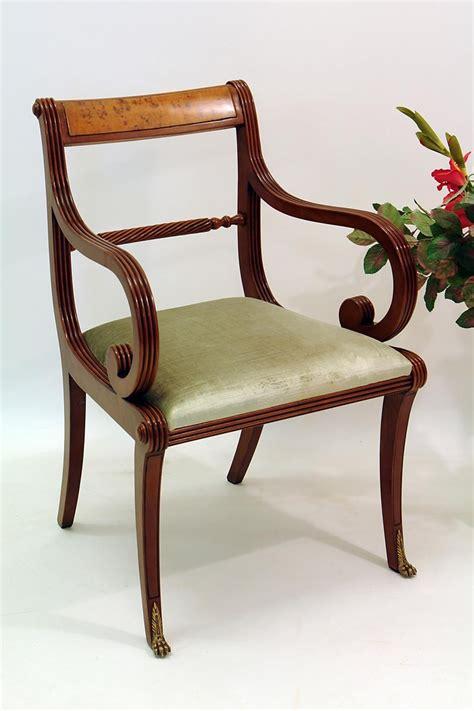 armlehne englisch stuhl mit armlehne aus mahagoni im englischen stil