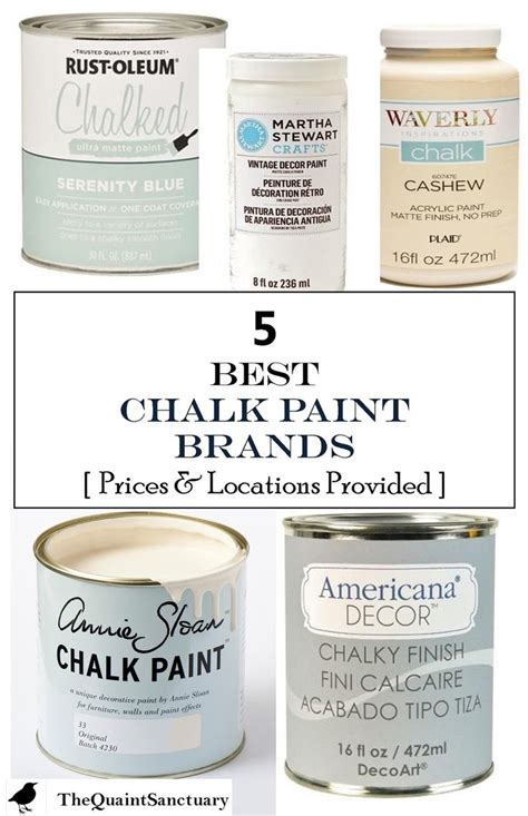 best paint brands 17 b 228 sta id 233 er om chalk paint furniture p 229 pinterest