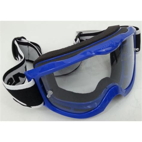 mirrored motocross goggles alias rival motocross goggle blue with free blue mirror