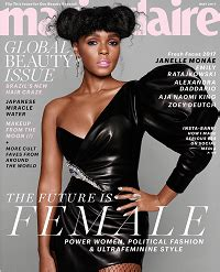 pin by solange claire on book cover ideas pinterest janelle mon 225 e covers marie claire s 2017 fresh faces