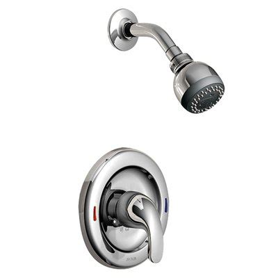 Single Knob Shower Faucet Repair by Moen L82691 Adler Single Handle Shower Faucet W Multi Function Showerhead Lowe S Canada