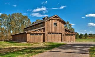 Pole barn with living quarters garage and shed rustic with barn brick