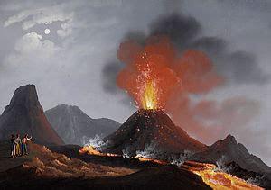 tremore interno a riposo eruzione vulcanica