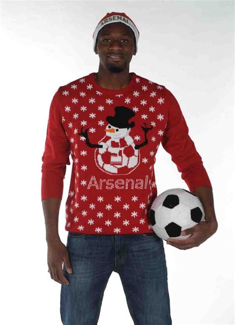 arsenal xmas jumper arsenal in christmas jumpers the gunners don comedy