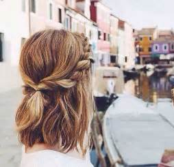 Really Easy Hairstyles For Medium Hair by 25 Cute And Easy Hairstyles For Short Hair Short