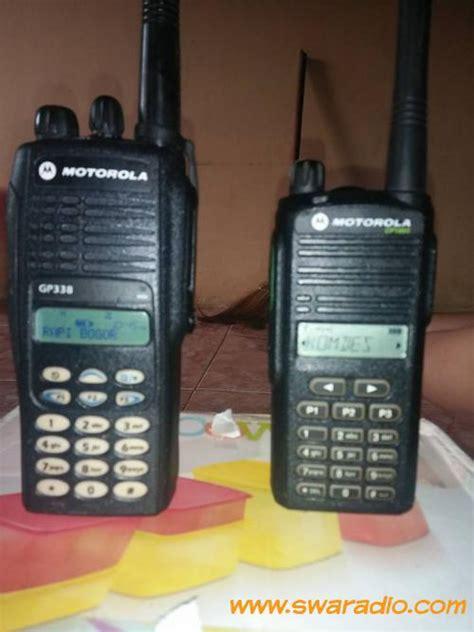 Ht Motorola Cp1660 Vhf Ori New dijual motorola gp 338 vhf cp1660 vhf barang mulus ori