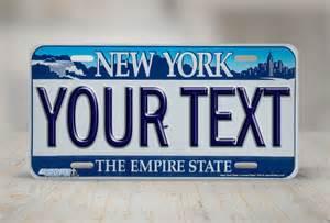 Custom State Vanity Plates Airstrike 174 New York License Plates Ny Custom State License